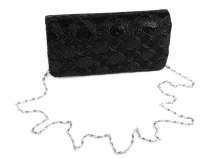 Clutch Bag / Evening Purse with Roses
