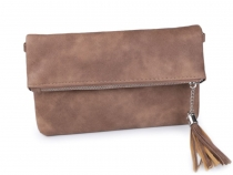 Clutch Purse / Handbag with Tassel 14.5x24 cm