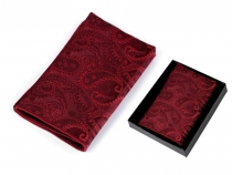 Pocket Handkerchief in Box Paisley