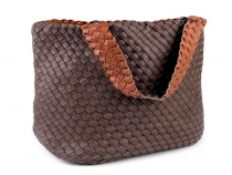 Braided Double-sided Handbag set of 2 pcs