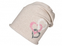 Girls Cotton Hat Heart