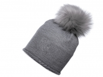 Girls Hat with Pom Pom, Capu