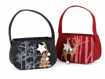 Christmas Felt Purse / Decorative Gift Bag