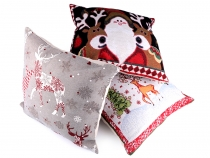 Christmas Tapestry Pillow / Cushion Cover 44x44 cm