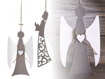 Wooden Cut Out to Hang - Angel