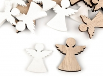 Holiday Wooden Decoration Angel mix of sizes 31 - 43 mm