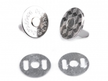 Magnetic Snap Fasteners Ø18 mm thin