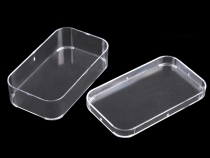 Clear Transparent Plastic Box with Lid