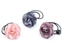 Floral Hair Tie / Flower Elastic Hair Band