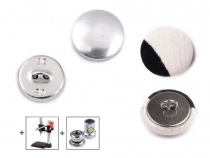 All Metal Self-Cover Button size 26