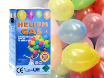 Helium Balloon Cylinder - fills up 30 balloons