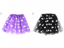 Carnival / Party Skirt with Polka Dots 2nd quality