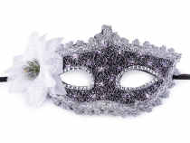 Party / Carnival Eye Mask with Flower 2nd quality