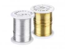 Decorative Craft Copper Wire Ø 0.3 mm, length 10 m