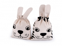 Cotton Bag / Pouch Bunny, Tiger
