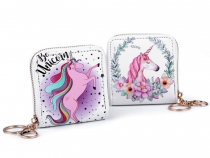 Coin Purse / Wallet 9x9 cm Unicorn