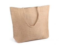 Jute Tote Bag for DIY craft 35x45 cm