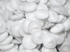 White Dorset Thread Buttons 24