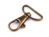 Metal Swivel Snap Hook pulling loop 25 mm