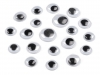 Wiggle Eyes Self-adhesive Assorted Sizes