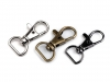 Metal Snap Hook pulling loop 12 mm