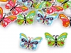 Wooden Decorative Button Butterfly