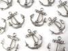 Charm Pendant for Necklace or Bracelet Anchor 18x20 mm