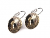 Earrings with glass rhinestone ABBY