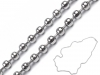 Surgical Stainless Steel Ball Chain 0.3x60 cm