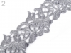Embroidered Lace Trim width 75 mm