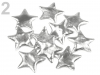 Christmas star decoration size 45 mm