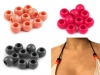 Plastic Charm Beads 11x14 mm