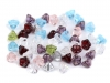 Glass Beads 6x8 mm Bloom