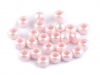 Plastic Charm Beads 6x8 mm