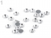 Flat Back Hot Fix Glass Rhinestones SS20
