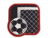Iron on Patch Soccer Goal