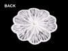 Lace Flower Applique with Rhinestone Ø45 mm