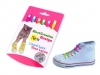 Silicone shoelaces length 12 cm