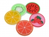 Round Silicone Placemat Fruit Ø9 cm