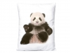 Throw Pillow / Cushion with Filling - Panda, Dolphin, Elephant